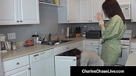 Hot Sex Crazed Wife Charlee Chase Fucks The Plumber'_s Pipe!