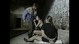 Brunette Fucked While Boyfriend...
