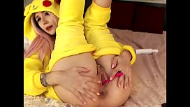 Pikachu enjoying some ass...