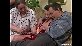 Busty Granny Gets Dicked...