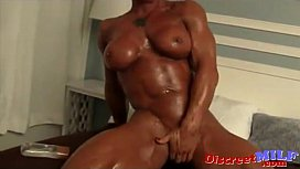 MILFs with big muscles...