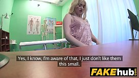Fake Hospital Fit blonde...