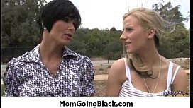 Mom going black - hard interracial porn 26