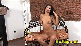 Mature Latina Wife Creams Pussy With Fat Dildo Homemade