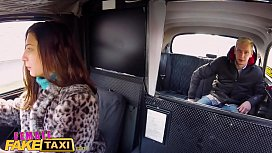 Female Fake Taxi First...