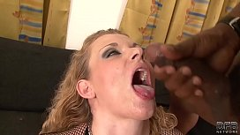 Interracial Blowjob Cumshot Compilation...