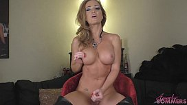 Angela Sommers strip and...