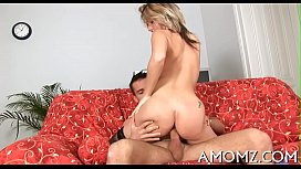 Older babe sucks and swallows