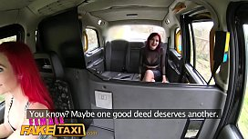 Female Fake Taxi Two...
