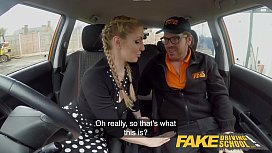 Fake Driving School Busty...