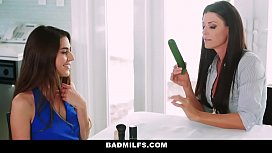BadMILFS - Learning to Suck Cock &amp_ Fuck Before Prom