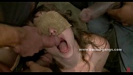 Very horny girl is used and a. by a horny male nurse in a mental ward