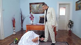 Fanciful marriage.The BDSM...