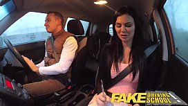 Fake Driving School exam...