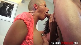 PlatinumPornstars two milfs take turns sucking and fucking two guys