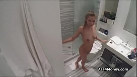 Gold Digger Teen Fucked In Shower