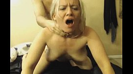 Hot blonde getting fucked...