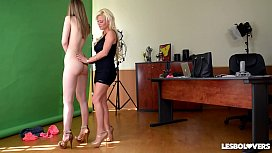 Lesbo lovers Afrodity and...