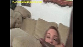 Two Big Black Cocks in  Mom'_s Pussy