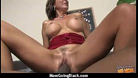 Beautiful mom with puffy pussy fuck a black dick 14