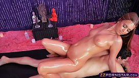 Oiled up special massage...