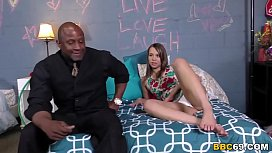 Liza Rowe Interracial Threesome...