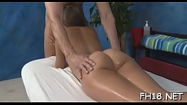 Those 18 year old girls get drilled hard by their massage therapist!