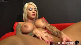 Dani Andrews - She'_s Masturbating With A Very Special Toy.