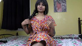HornyLily Indian Mom-son...