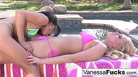 Two hot young lesbians...