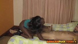 Ebony chick gets well...