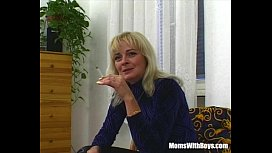 Blonde Mature Bombshell Suck...