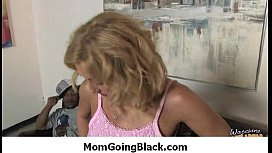 Black cock makes one mommy happy 5