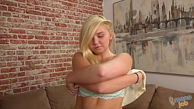 Blonde Melissa May Does...