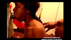 BLACK WHORE GETS FACE...