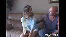 In nature'_s garb girl stands for dong and delights with amateur sex