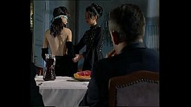 Blindfold fucking on banquet...