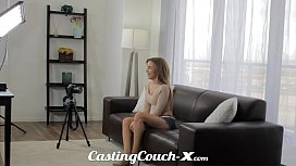 Casting Couch-X Exotic Cali girl nervous to do porn sex image