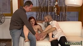 Teen fucked hard by old men and family taboo young Vanessa was xnxx image