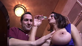 Nasty milf with big...
