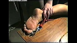 Slave gets tortured whipped...