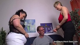 Thick thighed BBW joins...