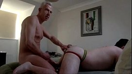 Hung daddy breeds tight...