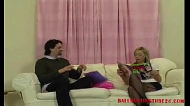 Ballbustingworld Mistress Likes a Man With Balls watch full at Ballbustingtube24.com