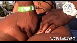 Thug drills white girl...