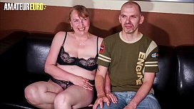 AMATEUR EURO - German Mature Veronika Takes Dick And Record This On Tape