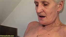 83 years old mom brutal fucked by stepson