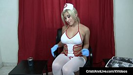 Hot Sperm Bank Nurse...
