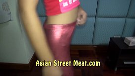 Gobbles Cock In Asian...