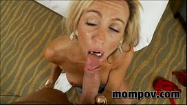 Big tit milf with...